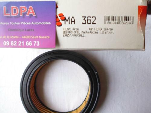 Filtre à air Opel Manta A-B LDPA44