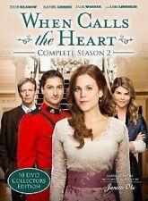 WHEN CALLS THE HEART : COMPLETE SEASON 2   -  DVD - REGION 1 - Sealed