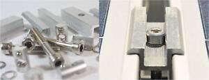 50mm Mit Schraube Nutenstein Pv Be Novel In Design Solarenergie Smart Mittelklemme Vorteilspack 1-16x Rahmenhöhe 30mm
