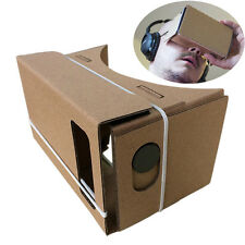 "6""DIY Google Cardboard 3D VR Virtual Reality Glasses Hardboard DIY 3D-BrilleD"
