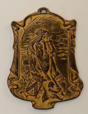 Médaille De Stienon,1903. Festival Ostende. Art Nouveau Heilzaam Voor Het Sperma