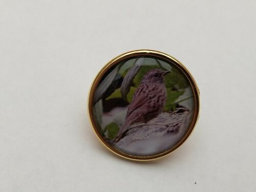 Dunnock Lapel Pin Badge