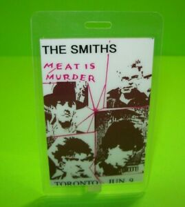 The-Smiths-Meat-Is-Murder-Backstage-Pass-Original-1985-Concert-Tour-Morrissey