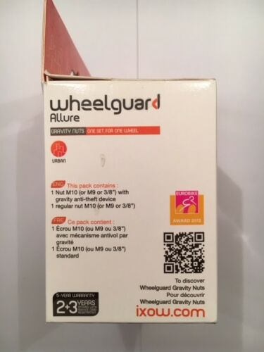 IXOW Wheelguard Gravity anti theft Wheel Nuts
