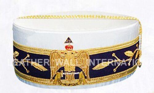 33rd DEGREE WINGS DOWN Caps SCOTTISH RITE 33rd CAP MASONIC 33rd DEGREE CROWNS