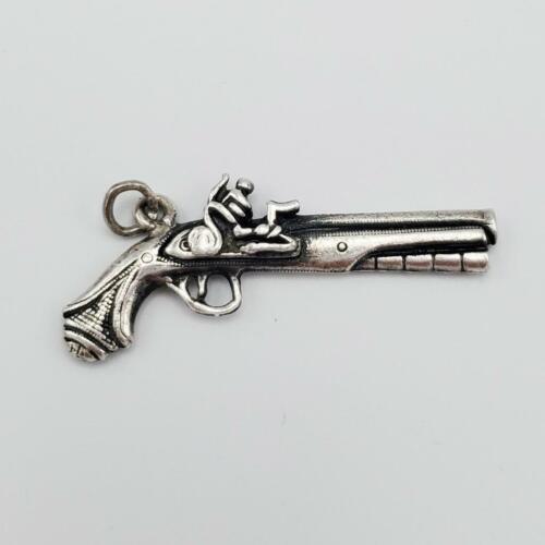 Flintlock Gun Cufflinks Dad. Vintage Double Barrel Men/'s Wedding Anniversary Groomsmen Gift Groomsmen