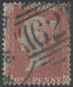 1855-C6-1d-RED-BROWN-RARE-BLUE-BELFAST-62-SPOON-CANCELLATION-LG