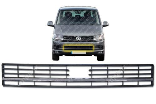 VW T6 TRANSPORTER griglia anteriore inferiore 2015 in poi MKVI MK6 1 Chrome striscia RADAR