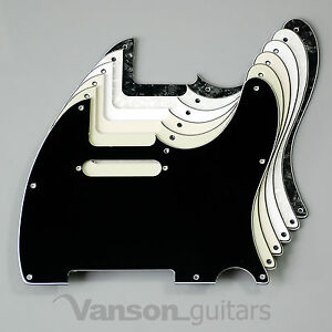 NEW-Vanson-3ply-Scratchplate-for-Telecaster-Tele-projects-Pickguard-TC2