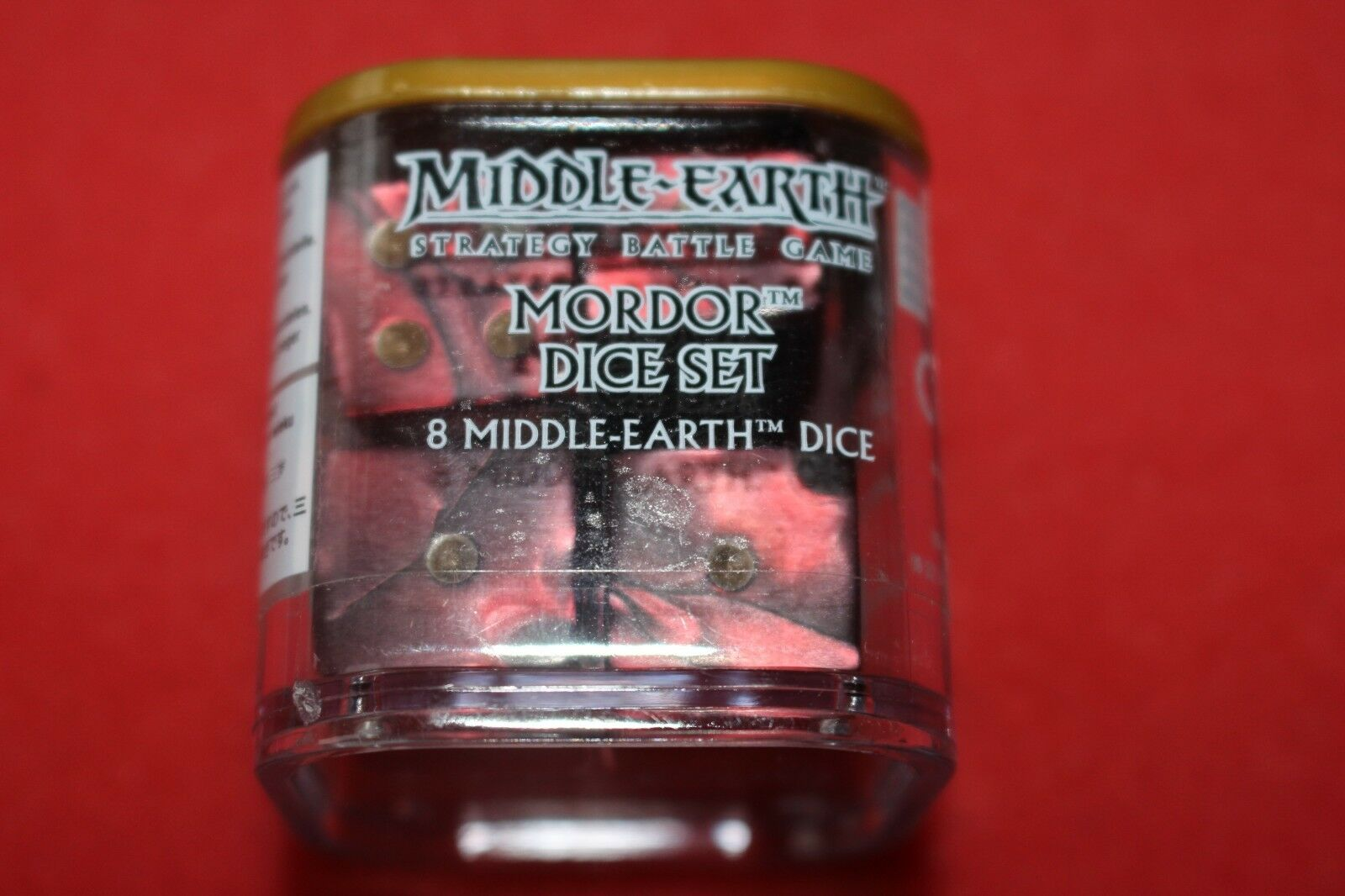 Games Workshop Mordor Dice Cube Red Warhammer 40k D6 New LoTR Lord of the Rings