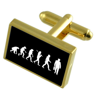 Select Gifts Horse Silver-Tone Cufflinks Optional Engraved Personalised Box