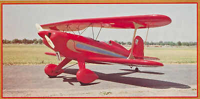 Giant Scale Starduster Too Aerobatic Biplane Plans, Templates, Instructions 72ws
