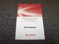 2008 Toyota Camry Navigation System Owner Owner's Operator Manual Ce Le Se Xle