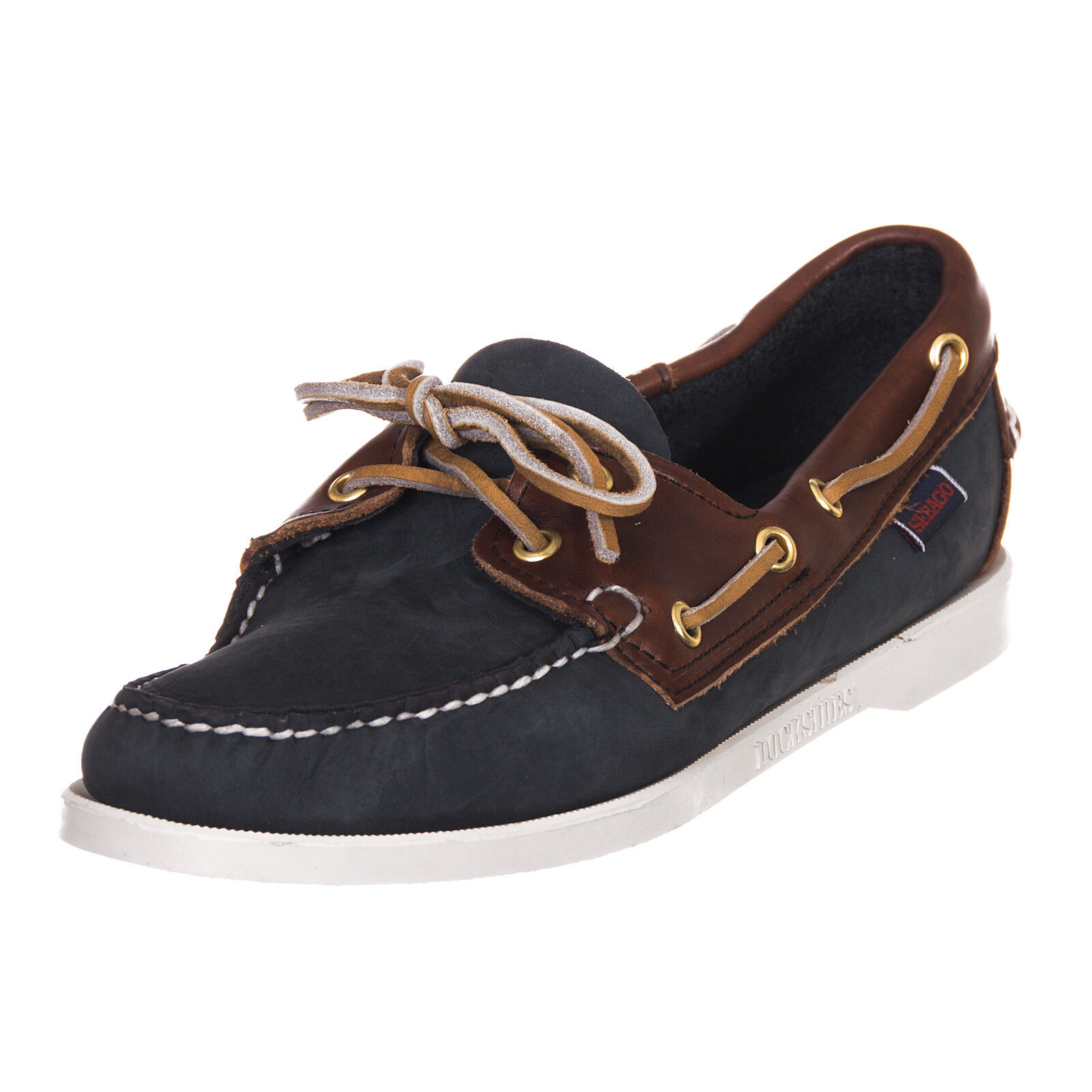SEBAGO scarpa campionario shoes donna sample woman blu marrone N32 EU 40,5 - 453 N32 marrone ba75a1