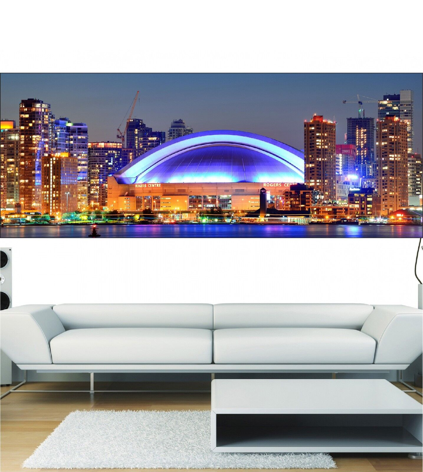 Papel pintado panorámica Centro comercial & building 3696 Arte decoración
