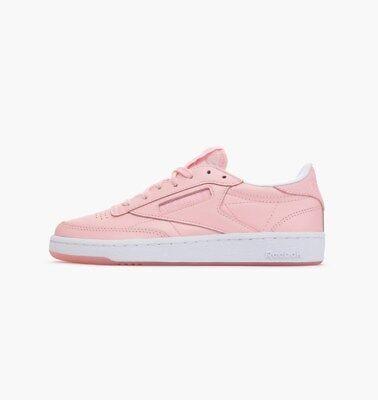 Reebok Classic x Face Stockholm Club C 85 Sizes 4 6.5 Pink RRP £75 BNIB AR1409   eBay