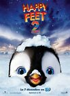 Affiche 120x160cm HAPPY FEET 2 (… FEET TWO) 2011 George Miller animation BE