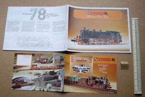 2019 DernièRe Conception 1980 Vintage Arnold-n Germany Giant Poster Catalogue + Layout Booklet (r143) CaractèRe Aromatique Et GoûT AgréAble