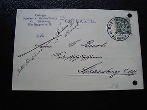 Germany-Wurtemberg-Card-18-5-1901-cy90-Germany