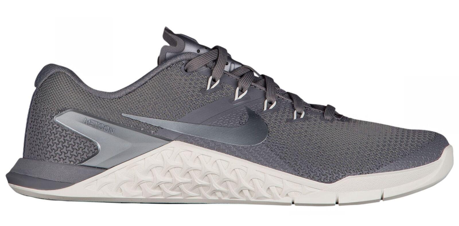 561a90ffd42d4b Nike Metcon 4 Womens 924593-002 Gunsmoke Grey Cross Training shoes Size 9