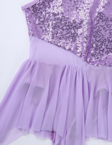 Child Girls Jazz Latin Lyrical Dance Wear Ballroom Dancing Dress Show Costumes