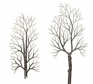 Busch 6158 NEW 4 WINTER DECIDUOUS TREES