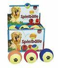Trixie 12 Tennis Balls Ø 10 Cm Assorted Colours