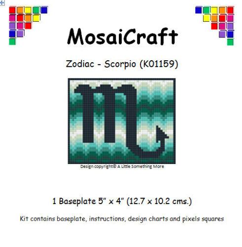 MosaiCraft Pixel Craft Mosaic Art Zodiac Kit /'Scorpio/' Pixelhobby