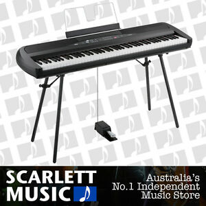 Korg-SP-280-88-Note-Digital-Piano-3-Yrs-Warranty-w-Stand-Pedal-NEW-Save-350