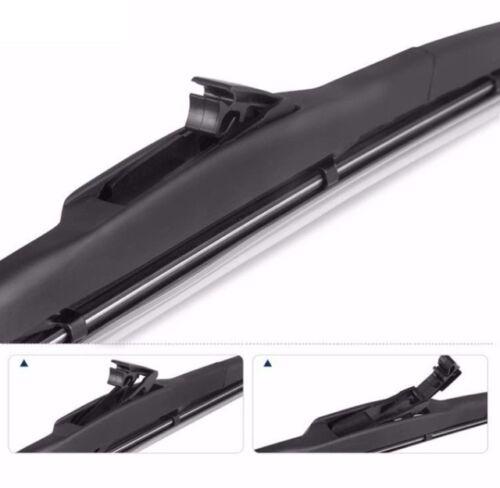2x Hybrid 65//40 Hallenwerk  Scheibenwischer SET JAPAN DESIGN NEW FLEX TECHNOLOGY