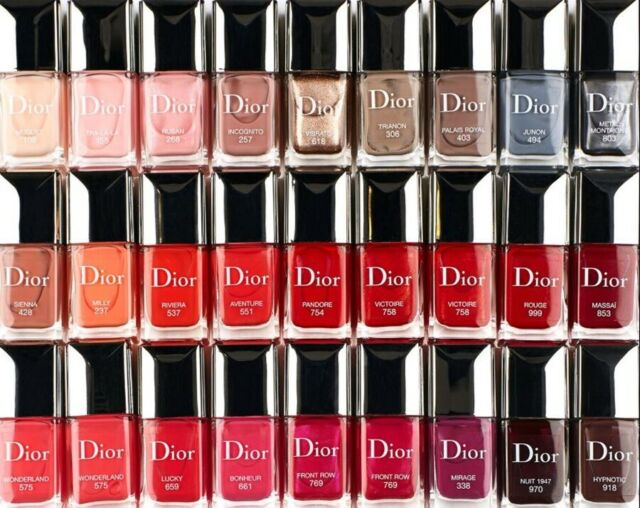 Christian Dior Vernis Couture Color Gel Long Wear Nail Lacquer Office 12