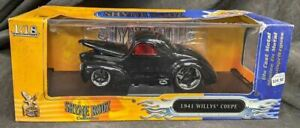 1941 Willys Coupe 1:18 Diecast Car - Shyne Rodz by Road Signature - In Box