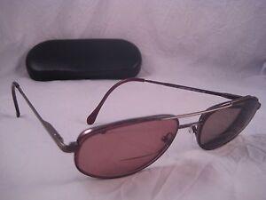 sferoflex rx eyeglasses tortoise shell brown metal