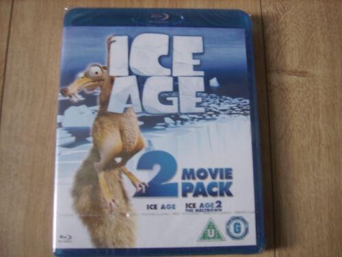 1 of 1 - ICE AGE + THE MELTDOWN 2 DISC COMBO BLU RAY MOVIE SET KIDS FAMILY FUN CHILDREN
