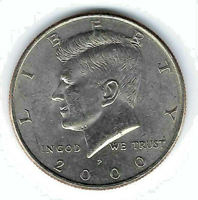 2000-D  GEM  BU  Mint State Kennedy US Half Dollar Coin