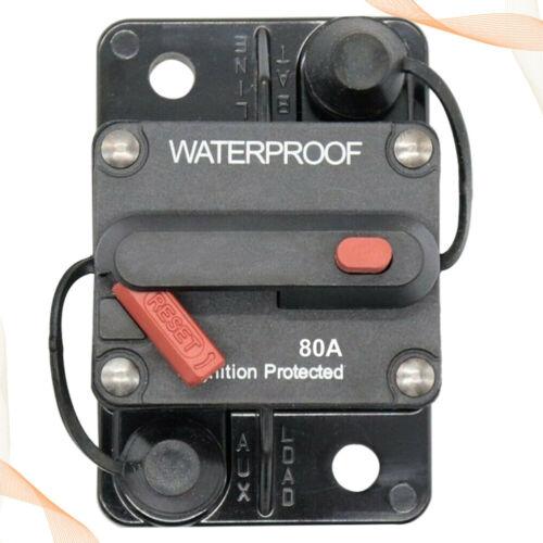 Circuit Breaker Fuse Inverter Manual Reset Button Auto 12V-36V RV 30-300 Amps