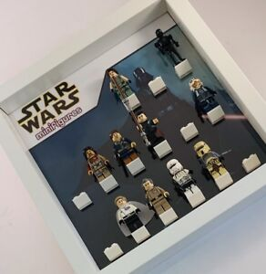 Lego Minifigure Display Case Frame Star Wars Darth Vader
