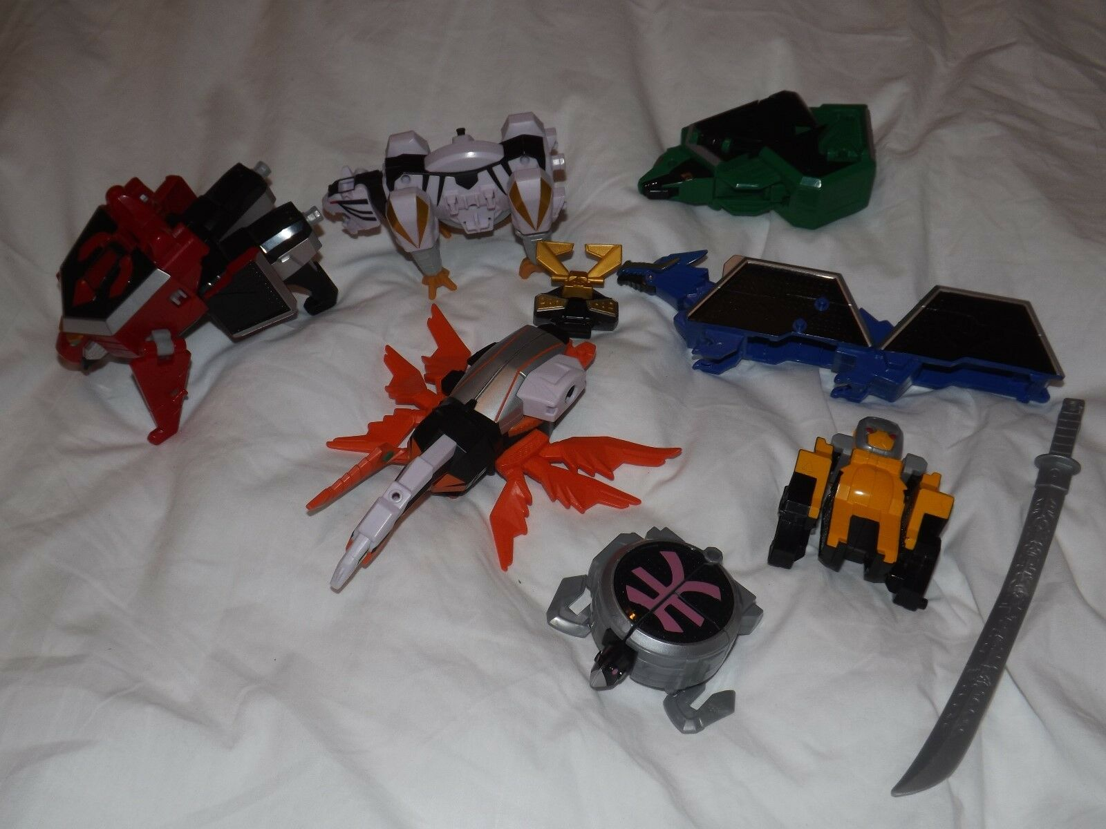 Grande Super Samurai Power Rangers Ranger Megazord Zord Origami