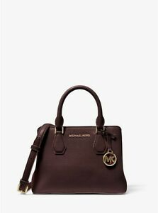 Michael-Kors-Camille-Leather-Satchel-Crossbody-Handbag-Purse-Small-Satchel