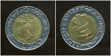 SAN MARIN  ITALY   500 lire 1995  ( bis )
