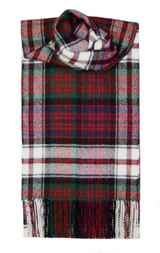 MacDonald Abito moderno Tartan Sciarpa 100/% Lana da Lochcarron