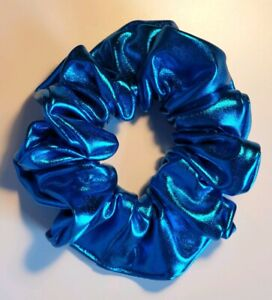 Shiny Metallic Gold Hair Scrunchie Other colours available
