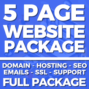 5-Page-Website-Web-Design-Service-Domain-Hosting-SSL-Business-or-Personal