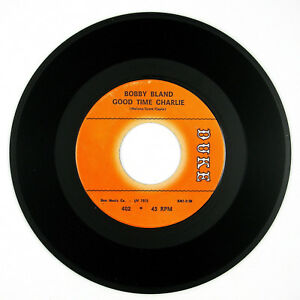 BOBBY-BLAND-Good-Time-Charlie-Good-Time-Charlie-7IN-1965-NORTHERN-SOUL-VG