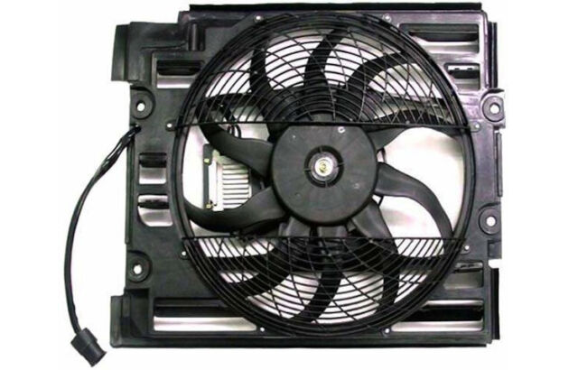 Replacement Cooling Fan For BMW 01-03 530i 99-03 540i 99-00 528i 91-03 525i