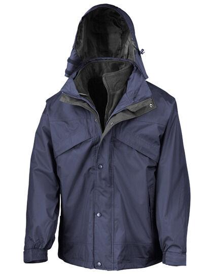 Giacca invernale uomo Giacca 3in-1 Giacca uomo a vento impermeabile cappuccio XS-2XL 3XL 4XL b5f9b3