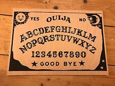 Wooden Vintage Fortune Teller Ouija Board Sign 12X8'' Sign Plaque Gypsy Retro