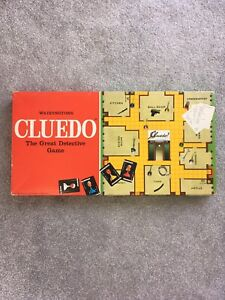 Cluedo-Spare-Replacement-Pieces-Weapons-Cards-Waddingtons-1972-Choose-FREE-P-amp-P