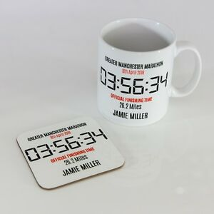 Any-Race-Personalised-Marathon-Runner-Finishers-Gift-Mug-and-Coaster-Set