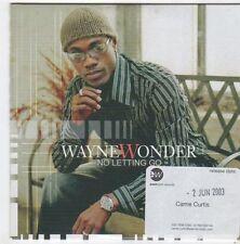 (FI696) Wayne Wonder, No Letting Go - 2003 DJ CD